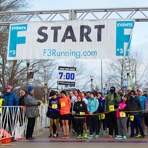 Chicago winter half marathon start time and location