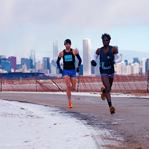 Chicago half marathon course map