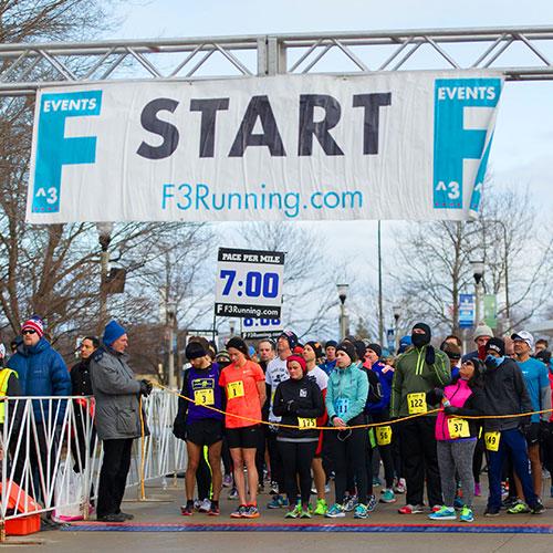 Chicago winter half marathon start time and location
